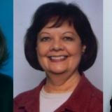 Kathy Gardner, Betty Jordan & Eric Blood
