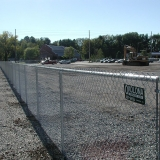 Industrial-Business Chain Link Fence