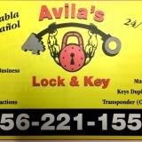 Avila's Lock & Key Ad