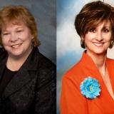 Clara Colvin & Linda Breaux