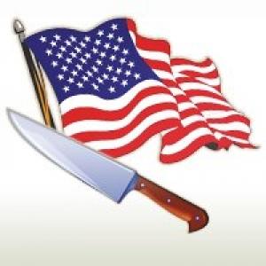 American Flags & Cutlery