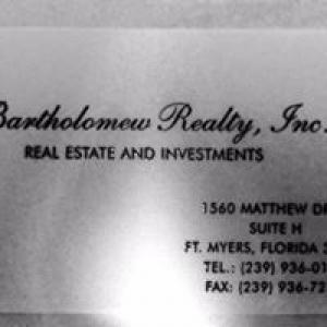 Bartholomew Realty Inc