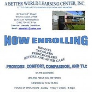 A Better World Learning Center Inc