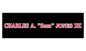 "Charles A ""Sam"" Jones III"