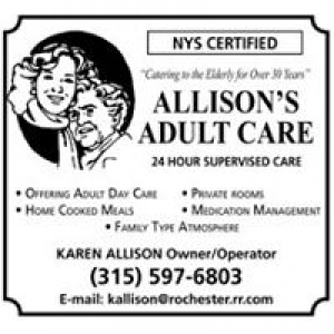 Allison's Adult Care