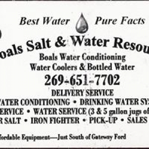 Boals Water Conditioning