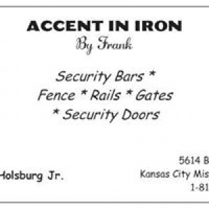 Accent In Iron