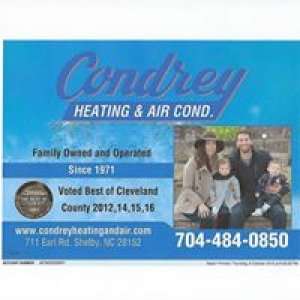 Condrey Heating & Air Conditioning Inc