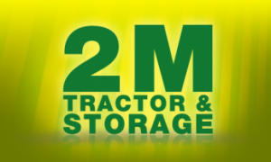 2 M Tractor Lawn Equipment & Storage