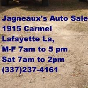 Jagneaux's Auto Sales