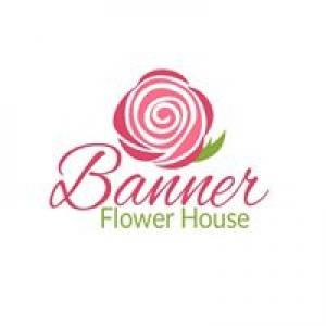 Banner Flower House