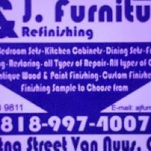 A & J Furniture Repairing & Refinishing