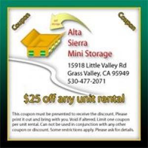 Alta Sierra Mini Storage