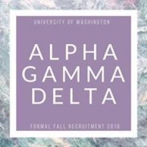 Alpha Gamma Delta Uw