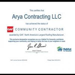Arya Roofing Company