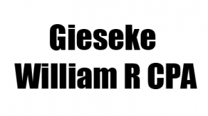 Gieseke William R