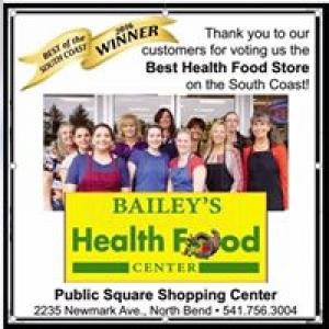 Bailey's Health Food Center Inc