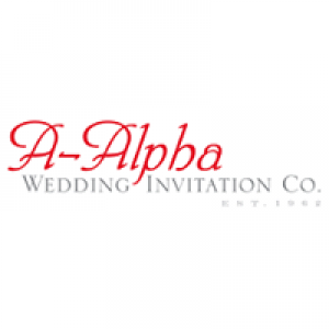A-Alpha Wedding Invitation Co