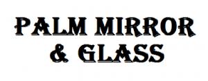 Palm Mirror & Glass