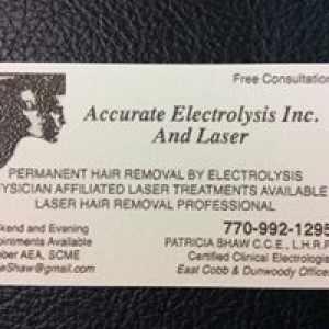 Accurate Electrolysis & Laser