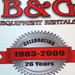 B & G Equipment Rental Co