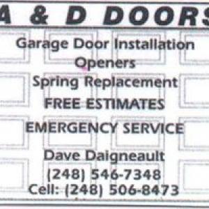 A & D Doors