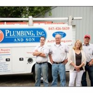 A & T Plumbing Inc & Son