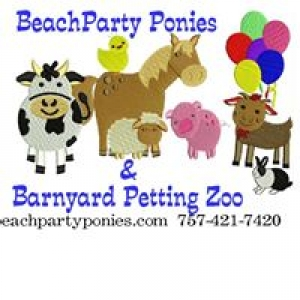 Beach Party Ponies & Petting Zoo