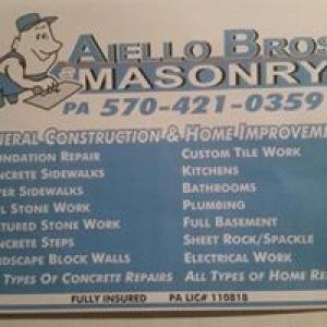 Aiello Bros Masonry