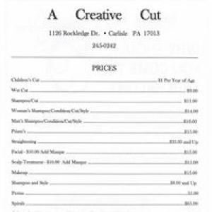 A Creative Cut