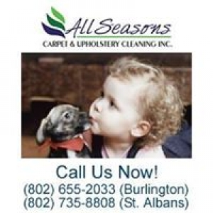 All Seasons Carpet & Upholstery Cleaning Inc