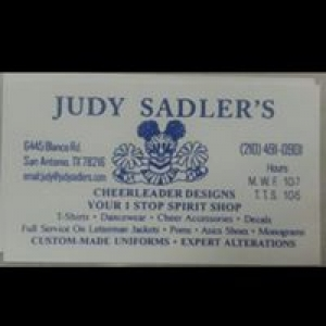 Judy Sadler's Cheerleader Designs