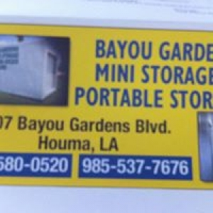 Bayou Gardens Mini Storage