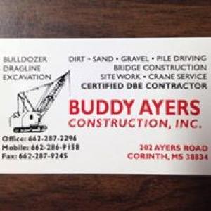 Ayers Buddy Construction & Crane Rental