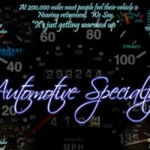 Automotive Specialty LLC
