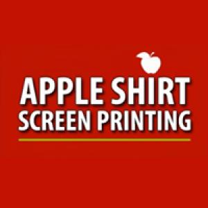 Apple Shirt Screen Printing