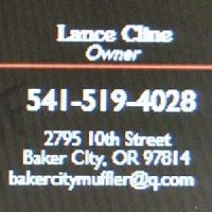 Baker City Muffler