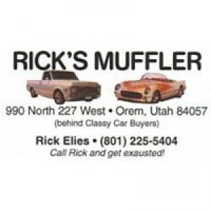 Rick's Muffler