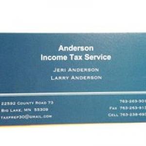 Anderson Income Tax Service