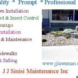 J J Sinisi Landscaping & Lawncare