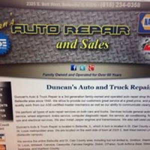 Duncan's Auto & Truck Repair