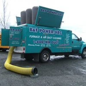 B& F Power Vac furnace and air duct cleaning