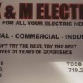K & M Electric Supply, Inc.