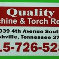 Quality Machine Torch Repair