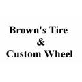 Brown's Tire & Custom Wheel Center