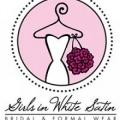 Girls In White Satin Bridal & Formal Wear