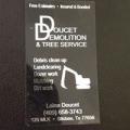 Doucet Demolition & Tree Service