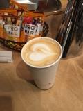 Vanilla latte for Sam